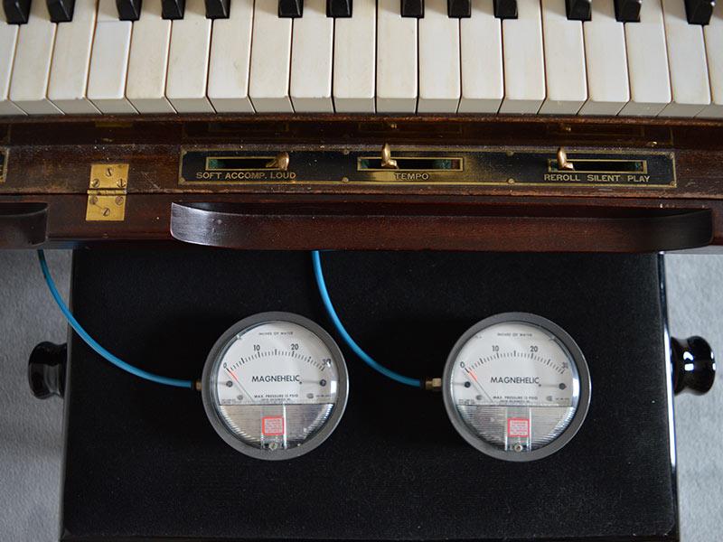 Originele Magnehelic Vacuum Meters Voor Het Afregelen Van Pianola's